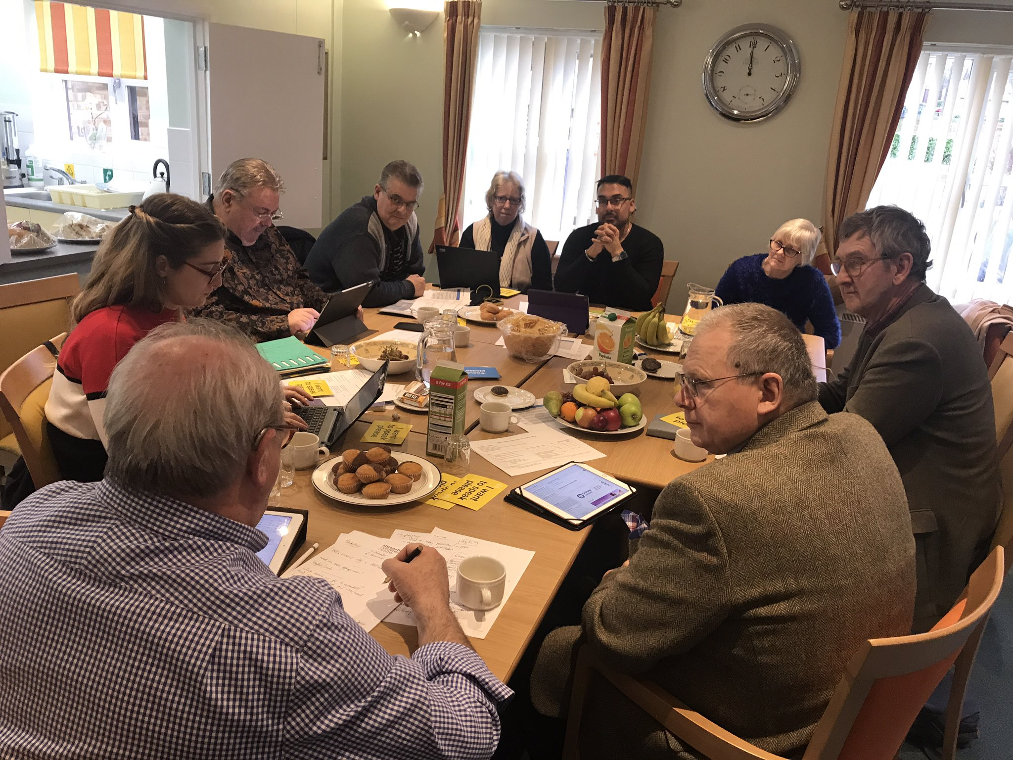3 Nations Dementia Working Group meeting in Oxford in 2019
