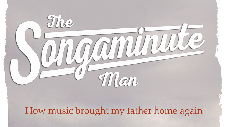 The Songaminute Man book, by Simon McDermott