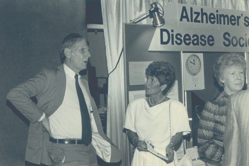 Alzheimer's Disease Society many years ago