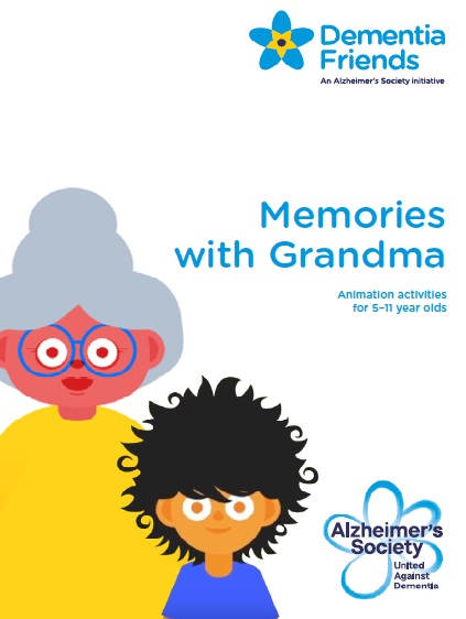Memories with Grandma resource front page