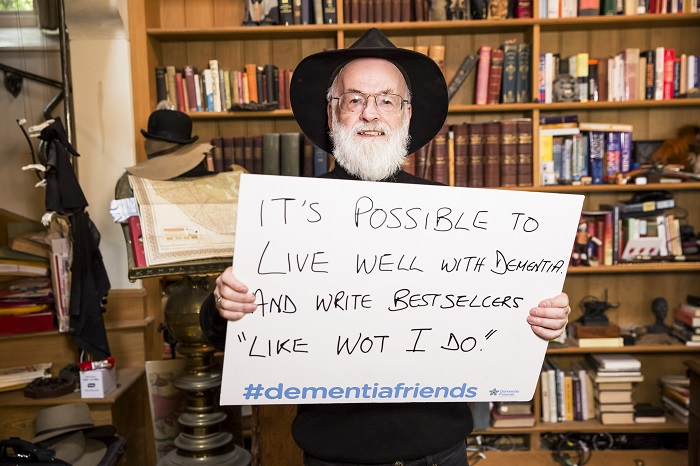 Terry Pratchett and dementia