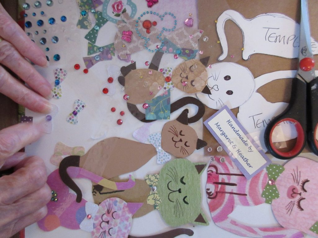 creative activities: card making