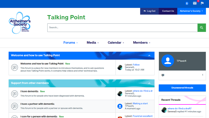 Talking point redesign - new site