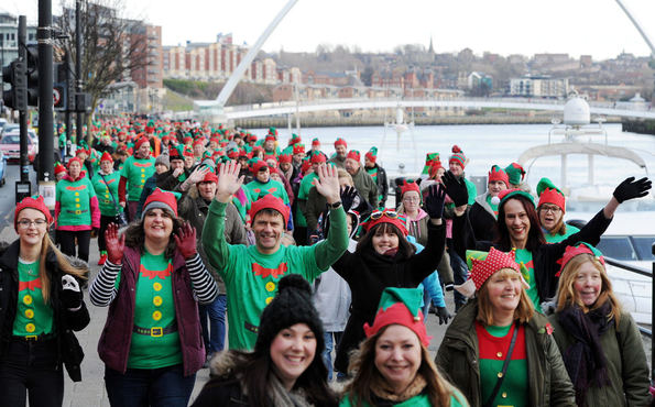 Elf Walk Newcastle