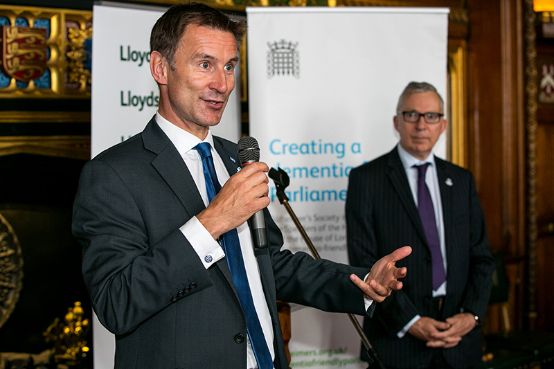 Secretary of State Rt Hon Jeremy Hunt MP & Jeremy Hughes