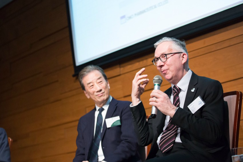 Japan:UK dementia conference: Jeremy speaking with