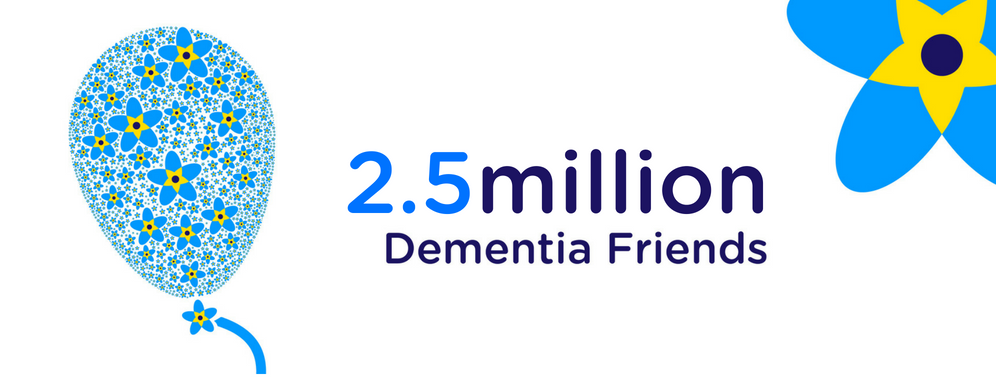2.5 million Dementia Friends
