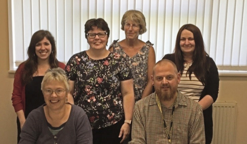 Learning disability and dementia project team