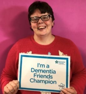 Tracy is a Dementia Friends Champion