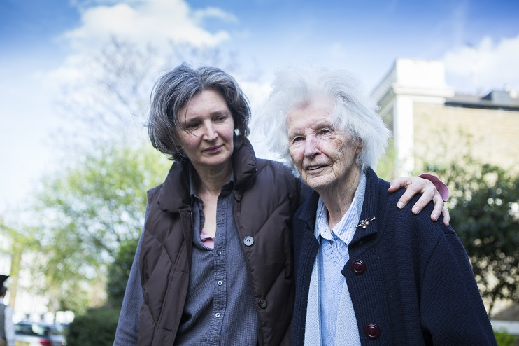Carer and person with dementia