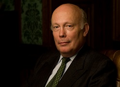 Julian Fellowes, Alzheimer's Society