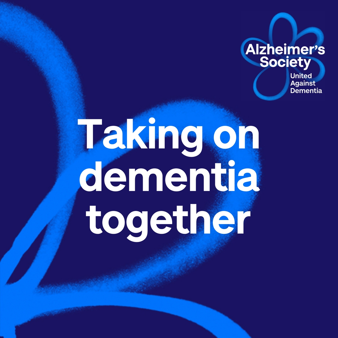 Taking on dementia together social media post