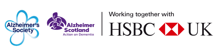 HSBC and Alzheimer's Society logo