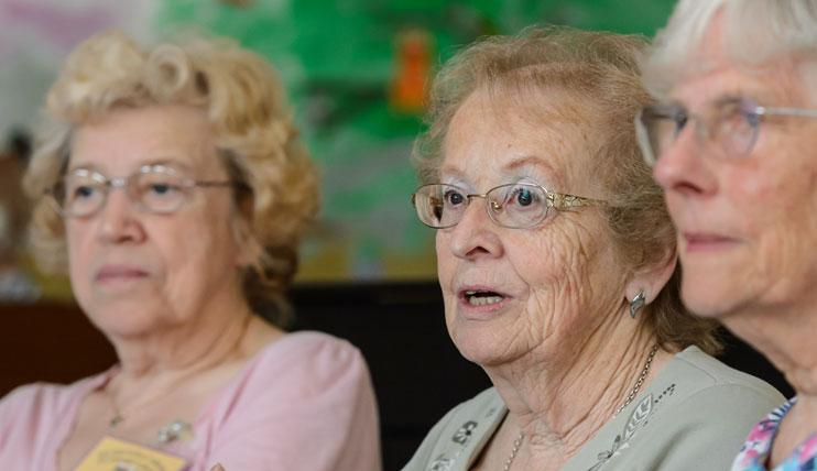Members of the Wyre Forest Dementia Carer's Support Group.