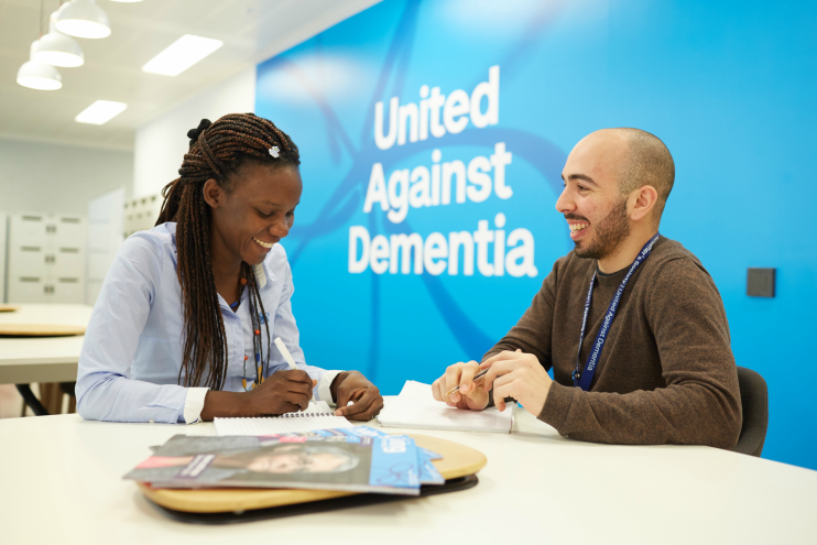Working at Alzheimer's Society