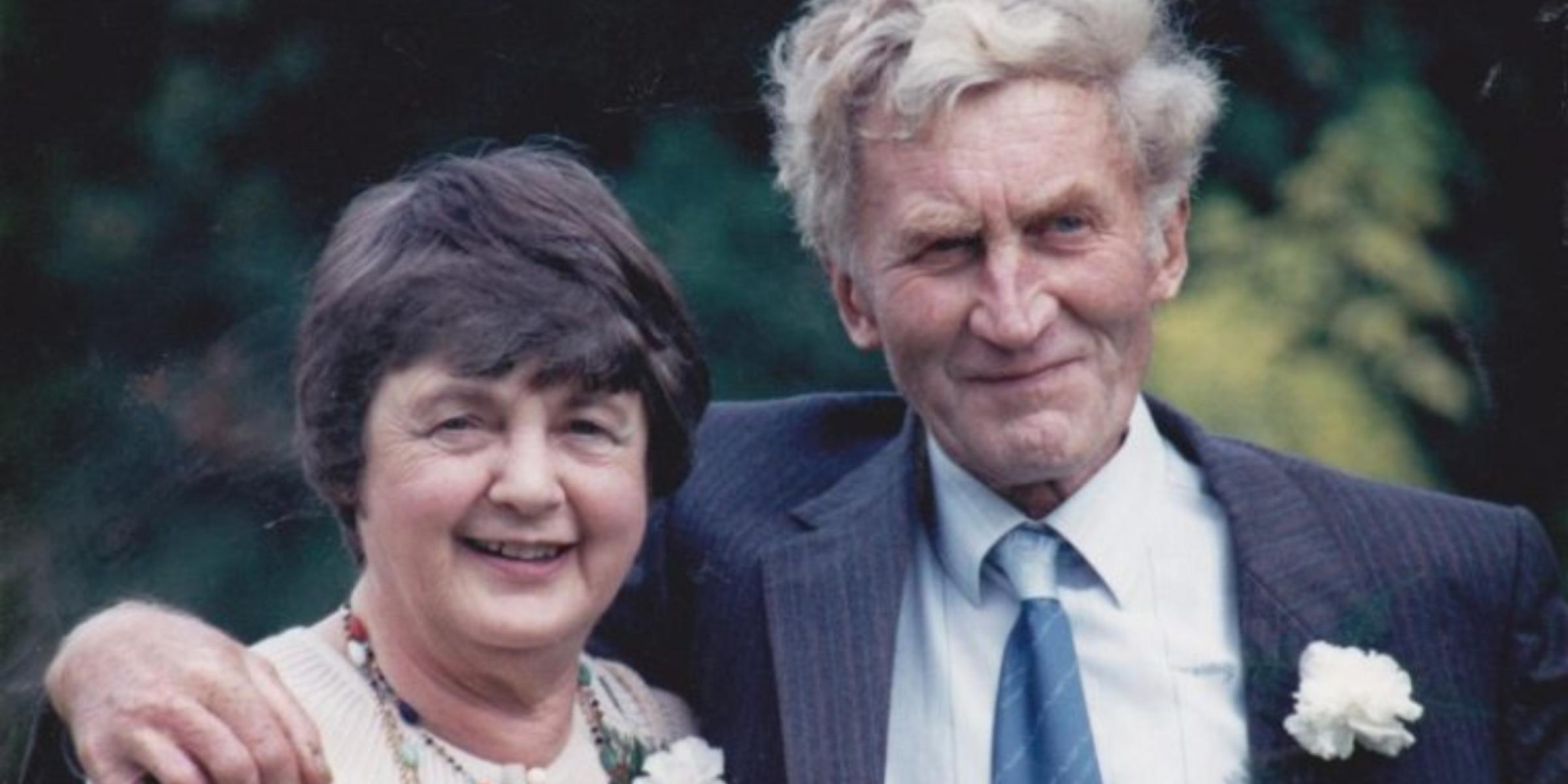 Mark Chipperfield's parents, Jean and Ben