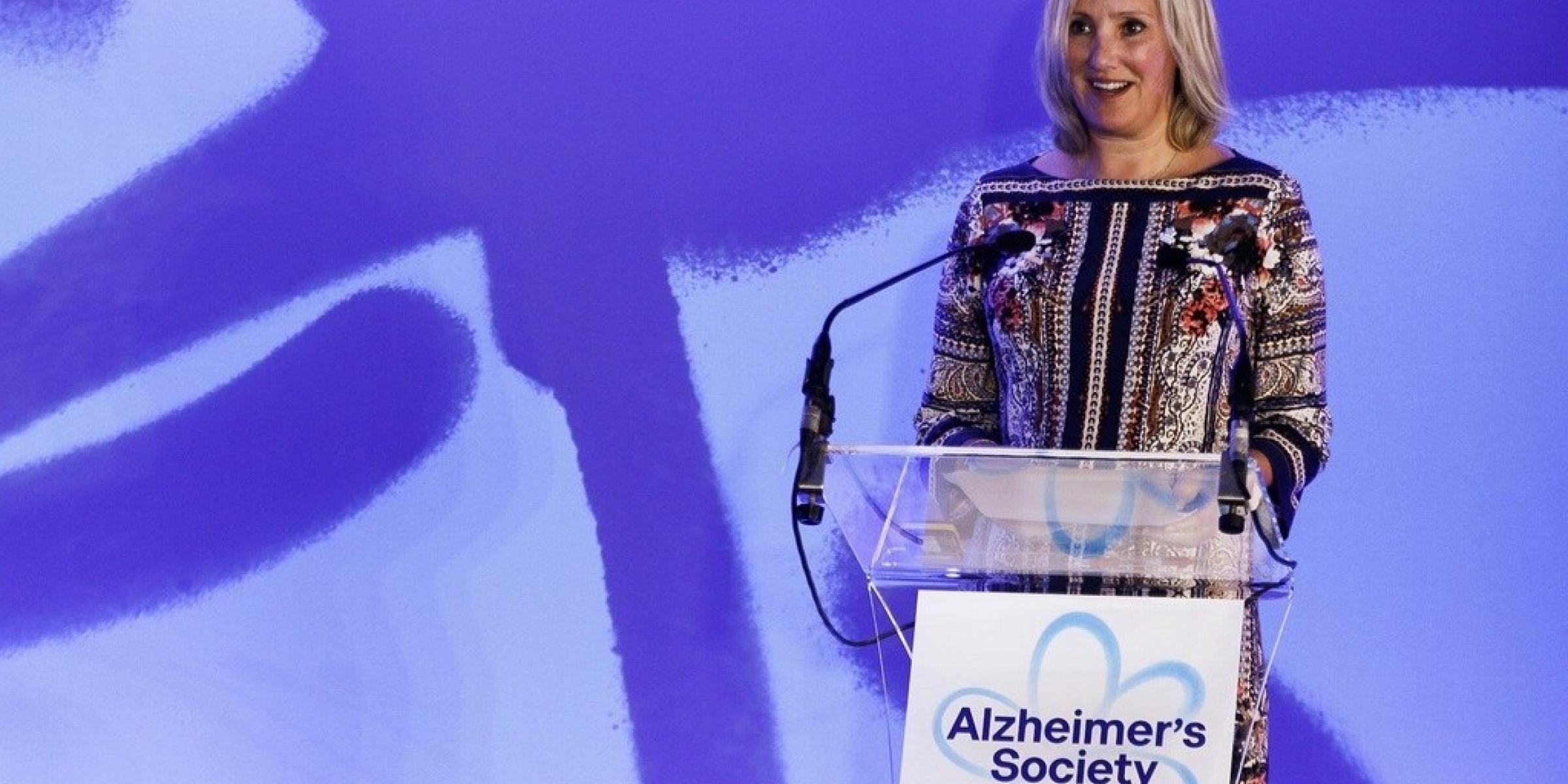 Minister for Care Caroline Dineage speaks about Alzheimer's Society for Dementia Action Week - blog