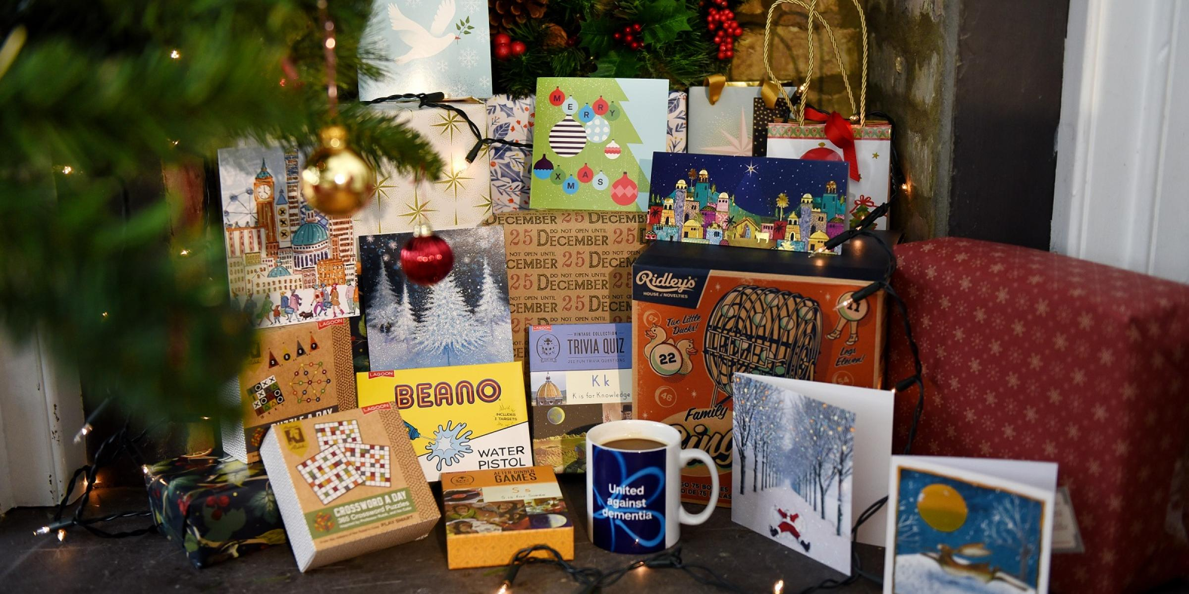 Christmas shopping and dementia: Gift ideas and advice