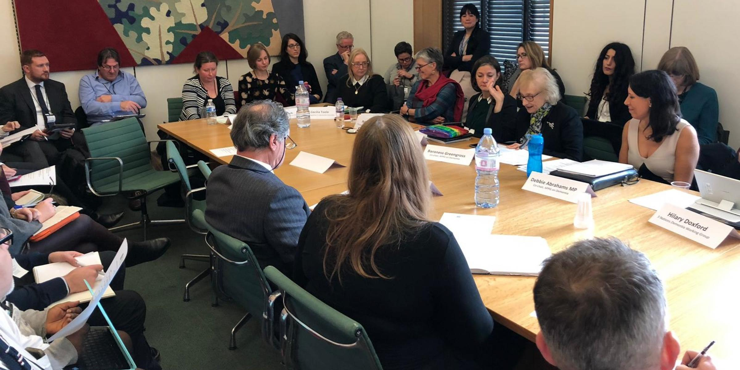 APPG disability and dementia