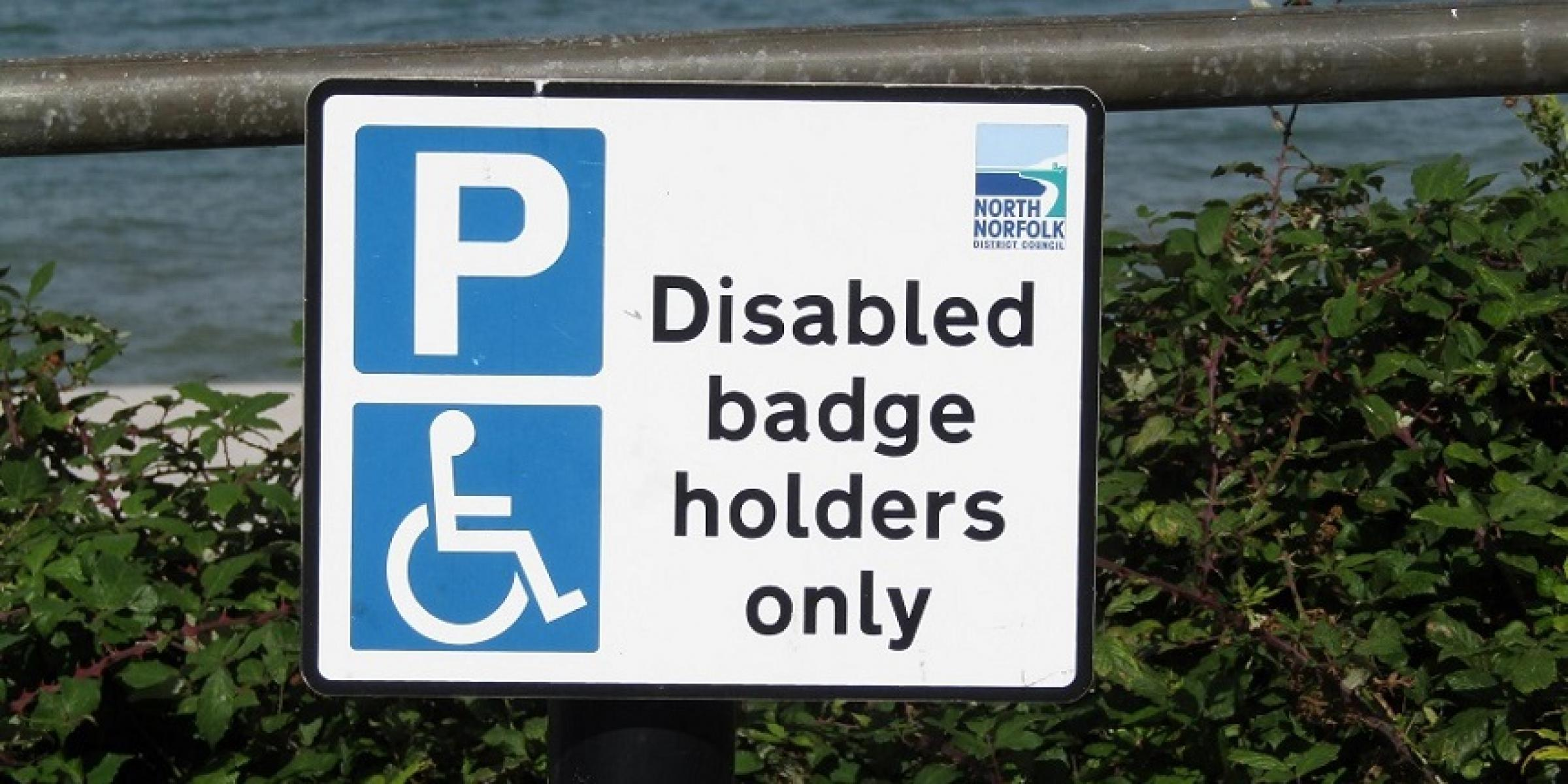 blue badge for blog