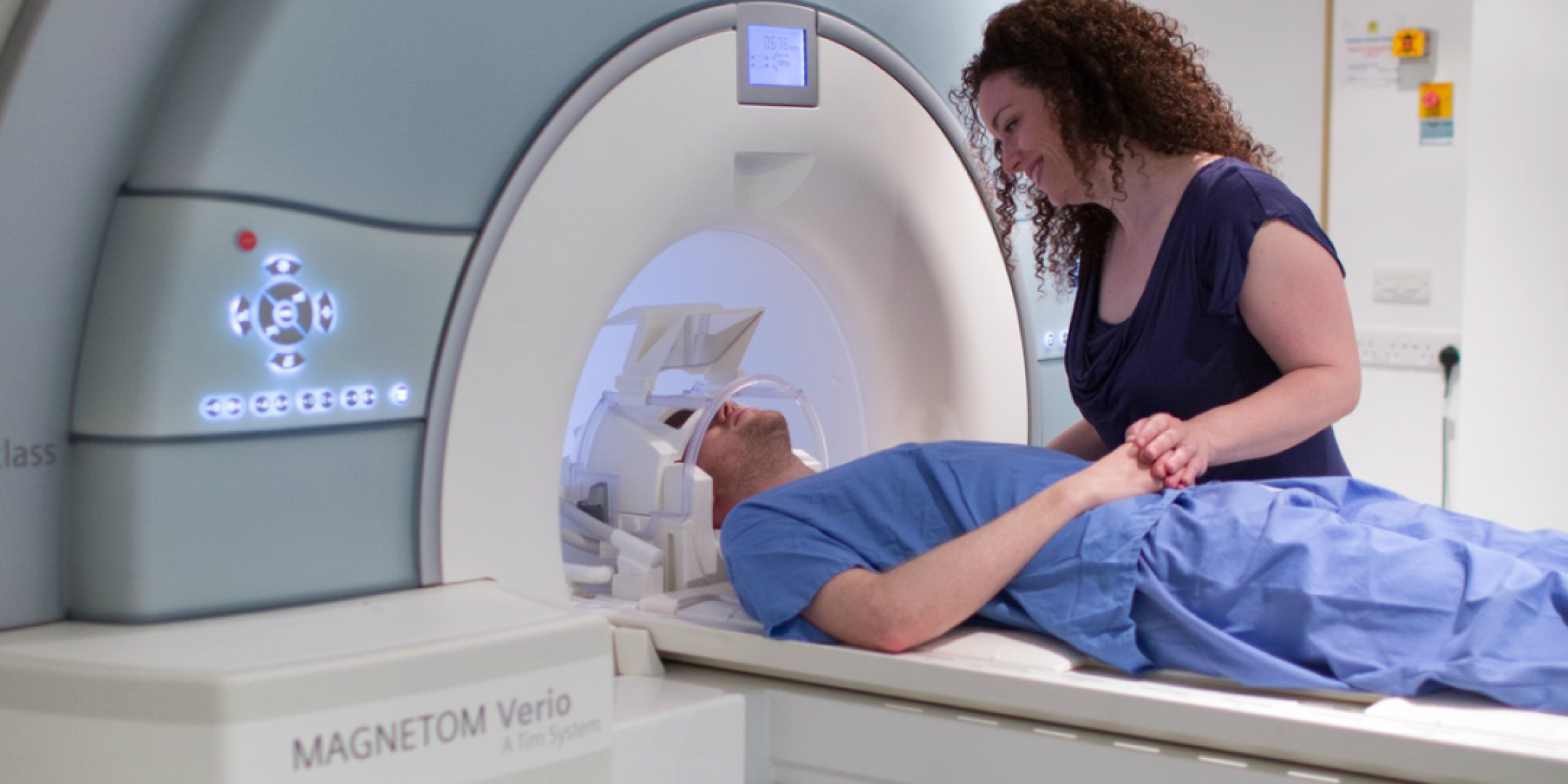 An MRI scan taking place at Imperial London