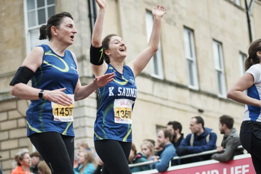 Run the Vitality London 10,000 for Alzheimer's Society