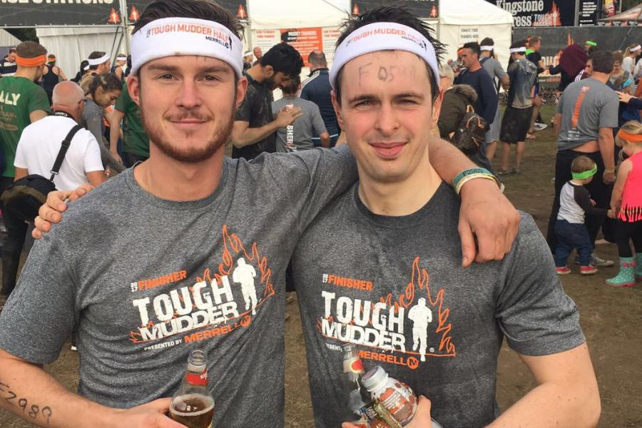Oliver Worthy - Two Tough Mudder participants