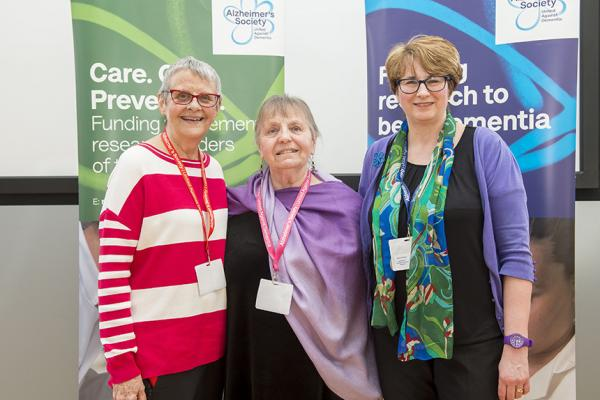 Research Network Volunteers Wendy Mitchell, Barbara Woodward-Carlton and Sandra Barker