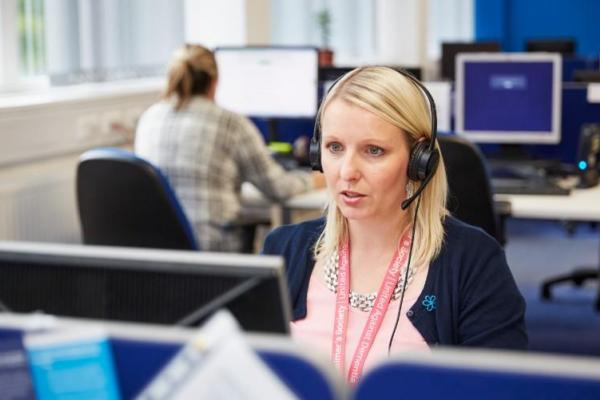 Dementia Connect Support Line adviser