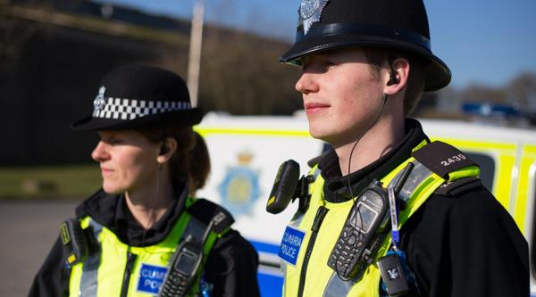 Police in Cumbria.