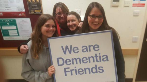 Iceland Foods becoming Dementia Friends