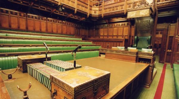 House of Commons Chamber: Speaker's table