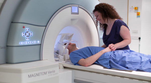 A scan taking place at Imperial London