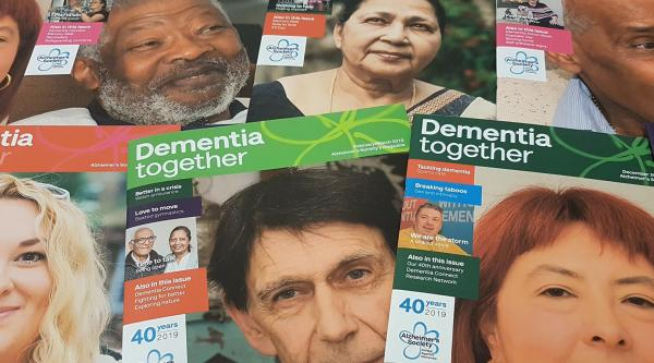 Dementia together magazine covers