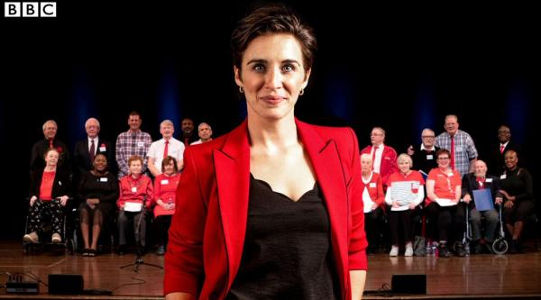 Vicky McClure - Our Dementia Choir on BBC One - Alzheimer's Society blog