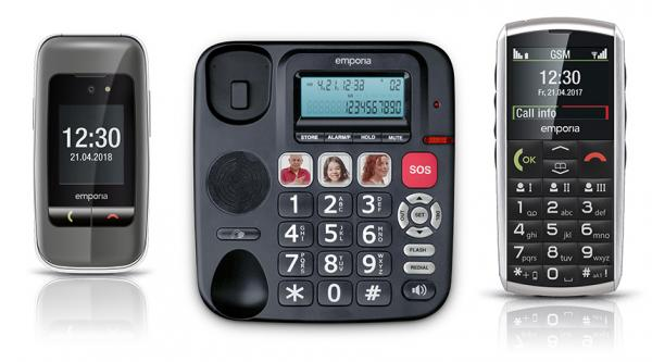 Mobile and landline phones
