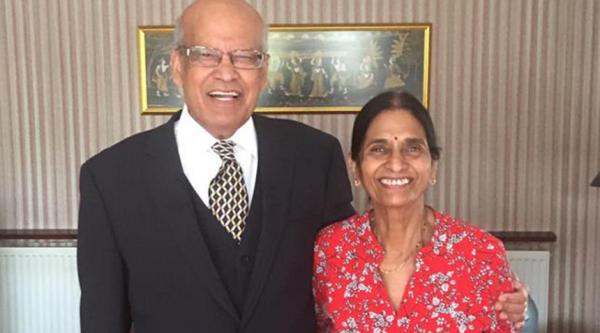 Mithlesh Mittal with her husband Shashi.