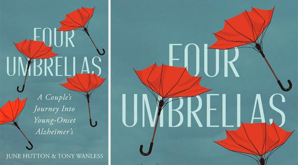 Four umbrellas, by June Hutton and Tony Wanless