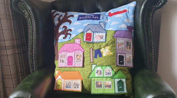 Danielle's house cushion