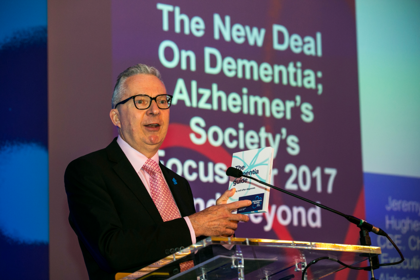 Jeremy Hughes at Alzheimer's Society conference