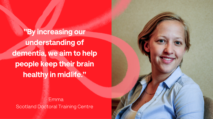 Emma from our Doctoral Training Centre