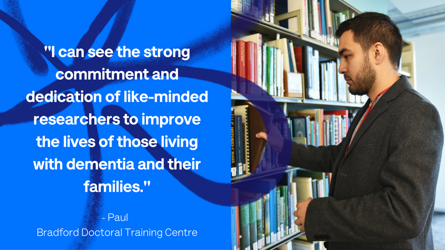 Paul from our Doctoral Training Centre