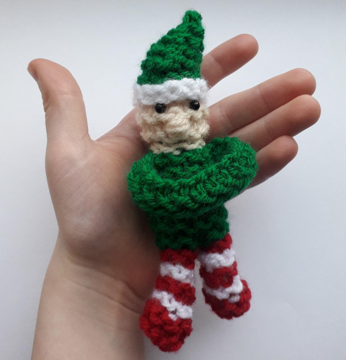 Knit your own Snuggle Elf for people with dementia