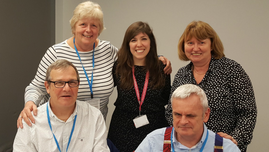 Innovation team working with LGBT+ people affected by dementia