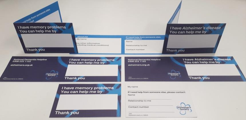 Examples of helpcards