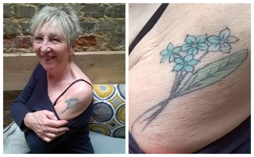 Rosalind's tattoo