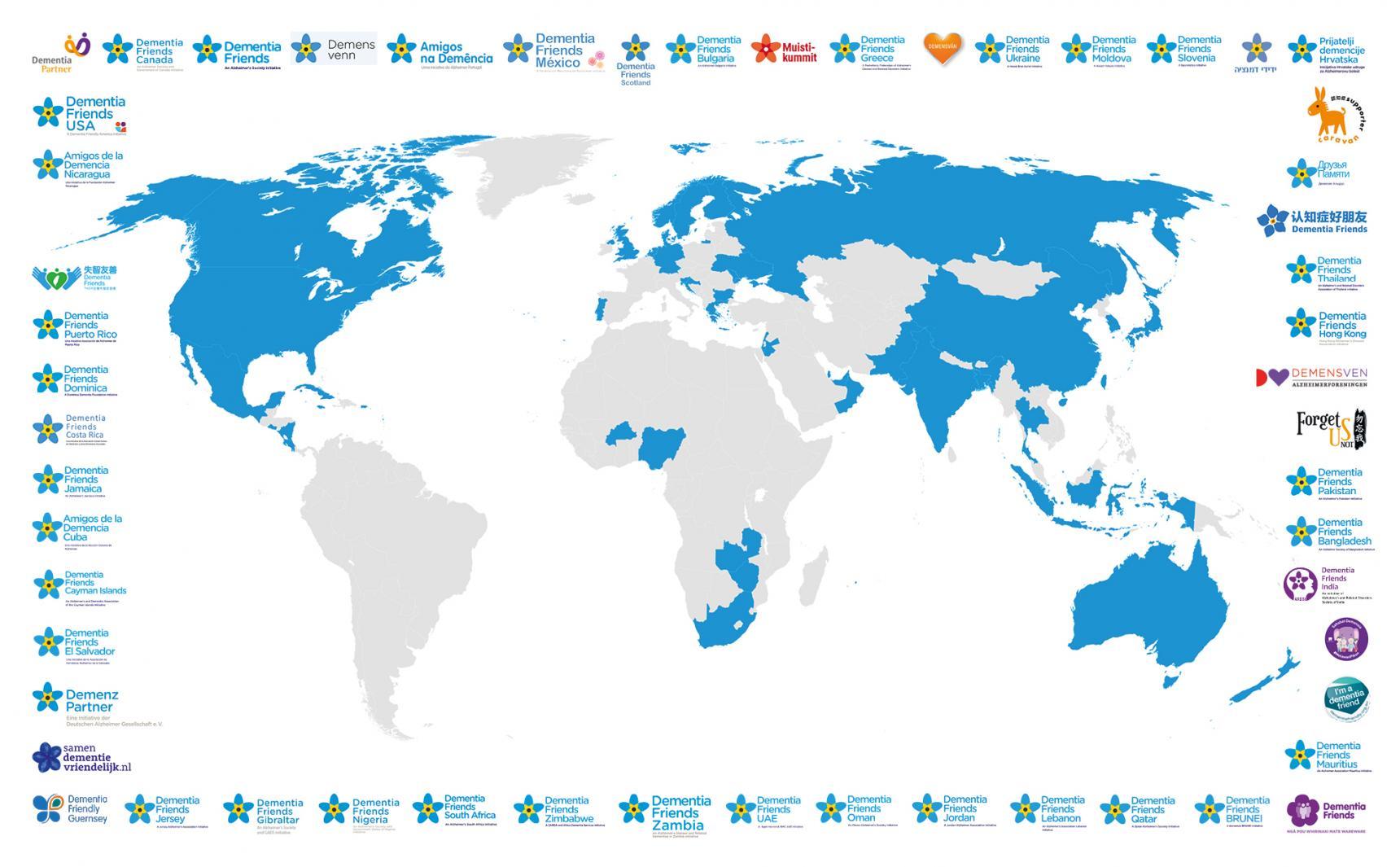 Creating a global dementia friendly movement   Alzheimer's