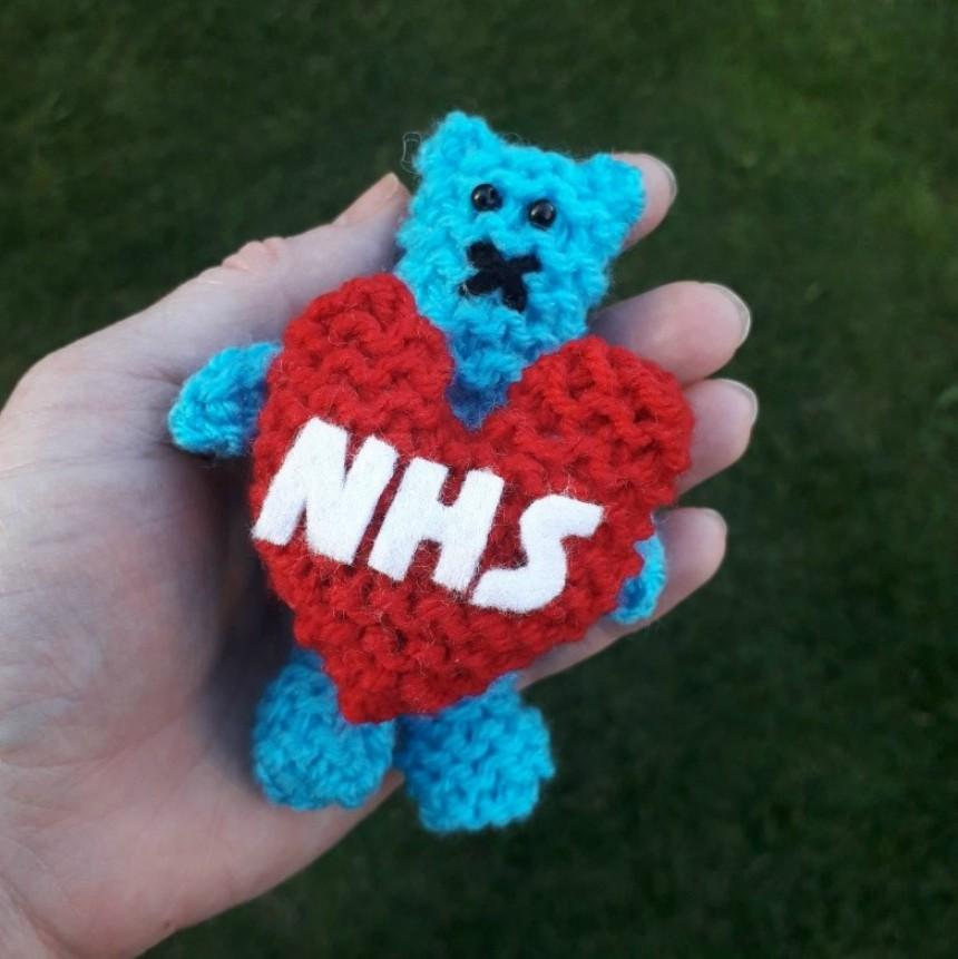NHS Snuggle Bear