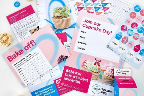 Cupcake Day fundraising kit