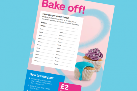 Image of bake off poster